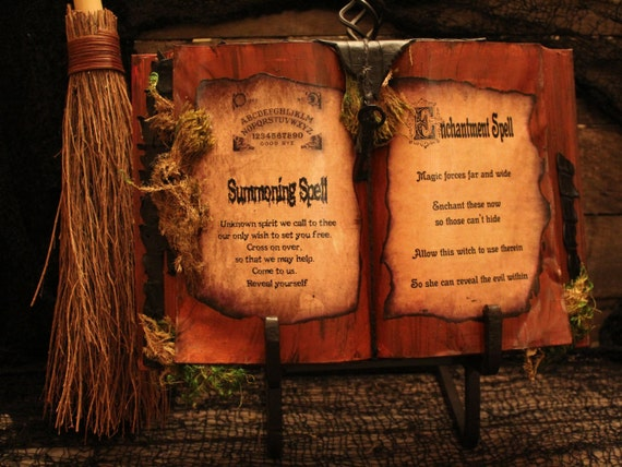 Items similar to Halloween Spell Book,