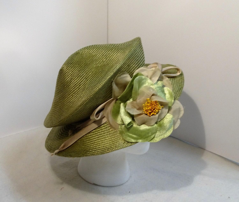 Woman s Dressy Packable Straw Hat Green c1b66020ec2