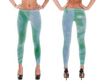 SALE - yoga pants, leggings, printed leggings, womens leggings, workout legging, print leggings, yoga clothes, yoga tights, yoga leggings,
