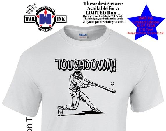 Touchdown UniSex Sportsball Tshirt