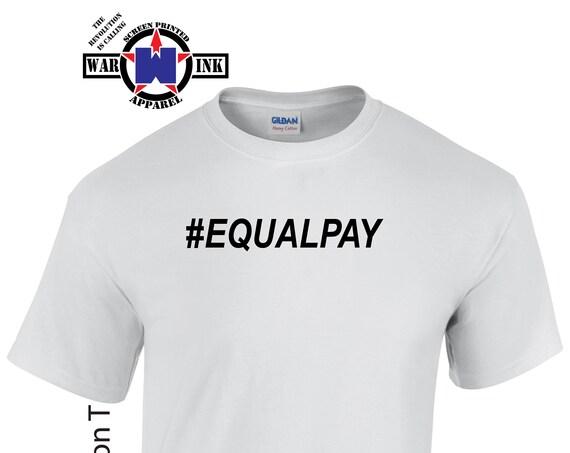 Hashtag EqualPay shirt