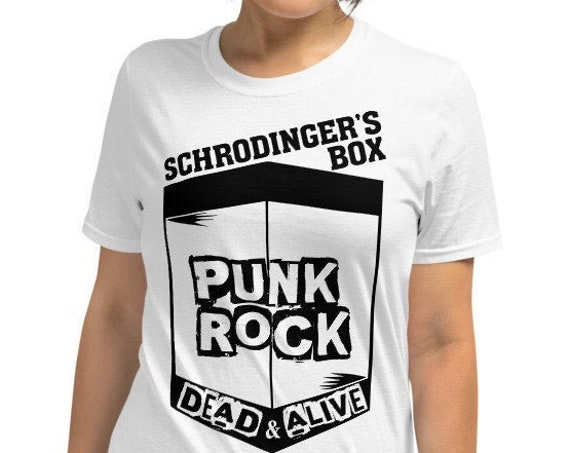 Schrodingers Box - Punks not dead Unisex T-Shirt