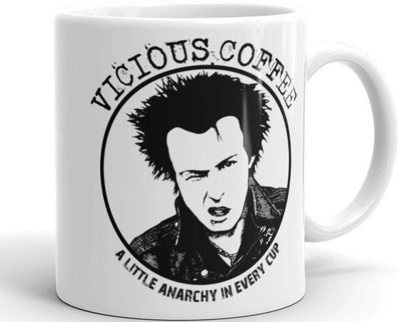 Vicious Coffee ceramic Mug - a little anarchy in every cup