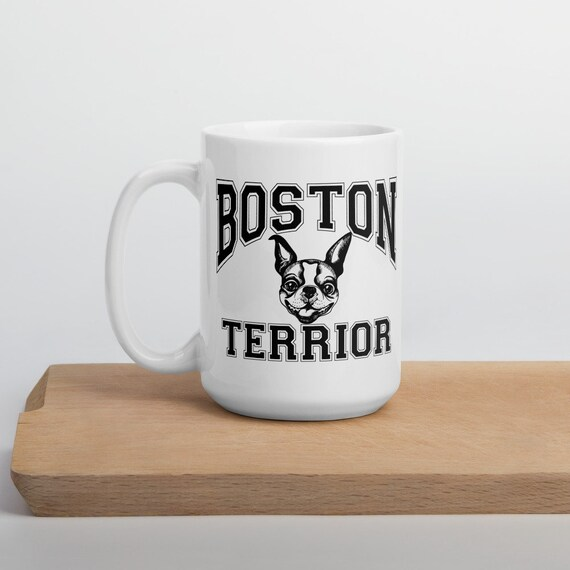 Boston Terrior Dog Coffee Mug