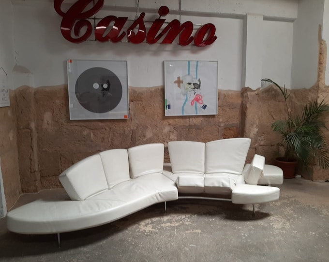 """Featured listing image: The """"Flap"""" sofa, By Francesco Binfare for Edra, Italy"""