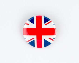 Arts,crafts & Sewing Badges Australia Uk Jack Friendship Flag Label Pin Metal Badge Badges Icon Bag Decoration Buttons Brooch For Clothes 1pc Available In Various Designs And Specifications For Your Selection