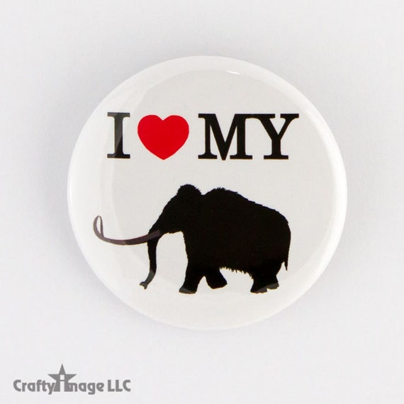 I Heart My Woolly Mammoth Dinosaur Paleontology I Love  1f17a21d0