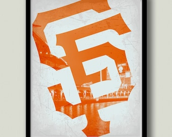graphic about Sf Giants Printable Schedule identify Sf giants artwork Etsy