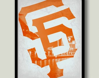 photo regarding Sf Giants Printable Schedule identified as Sf giants artwork Etsy
