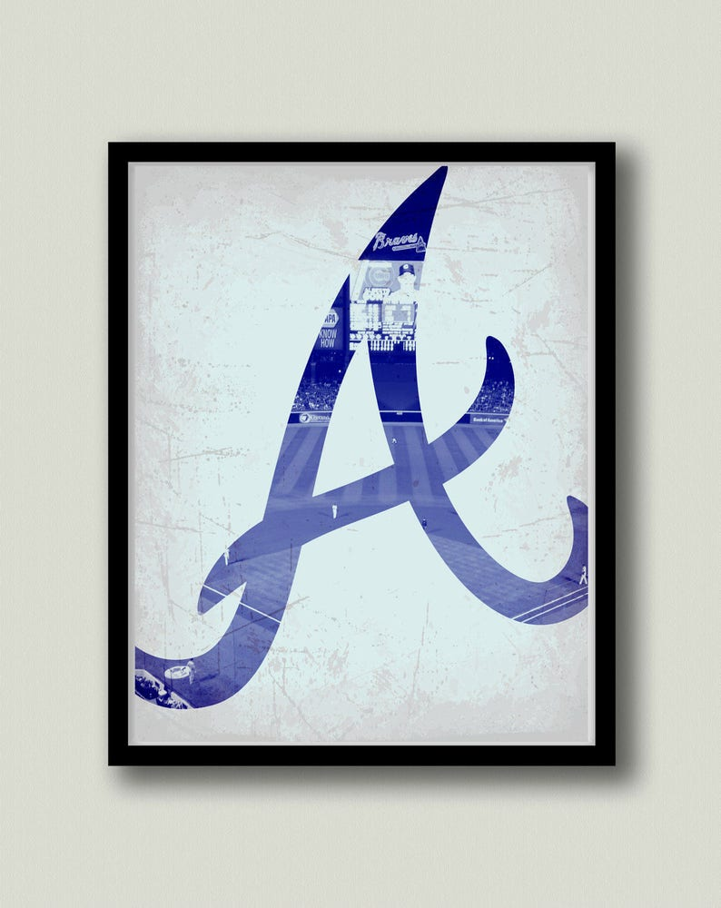 photograph about Atlanta Braves Tv Schedule Printable known as Atlanta Braves Printable Artwork, Quick Obtain