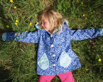 Girls wind proof jacket, size 4-6 years