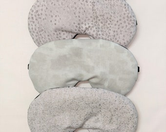 1 x Handmade Cotton Sleep Eye Mask Under The Sea Driftwood Victoria Louise Blindfold Travel Blackout Migraine Relief