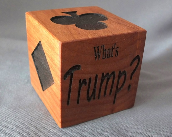 What's Trump? Gift for Euchre or Bridge lovers. Card players, Father's Day or just for fun gift!