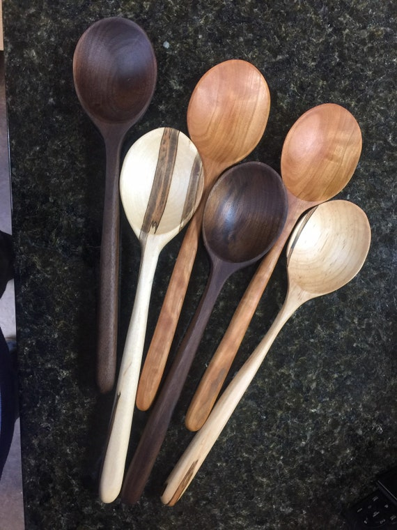 Wooden Spoon. Handmade - Kitchen Utensil - Kitchen Gift - Hostess Gift