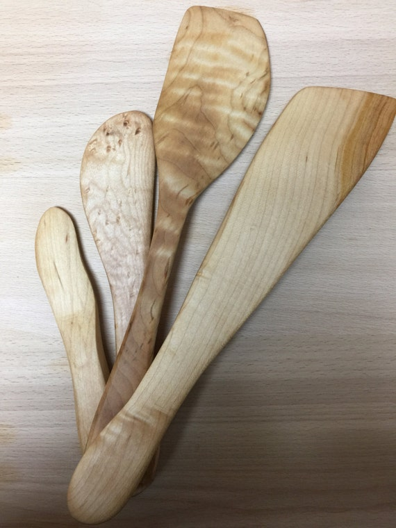 Wooden kitchen utensil set.  Wonderful Kitchen Gift, Christmas gift, woodenware for cook, kitchen accessory, serving utensil.
