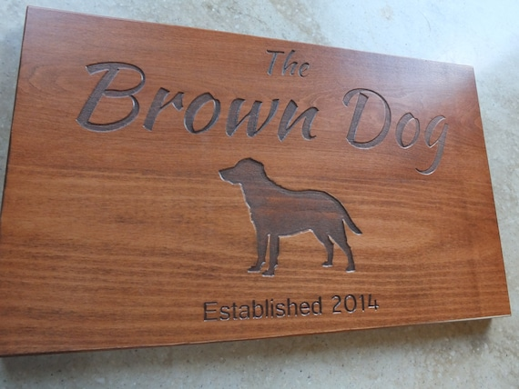 Personalized Wooden Cutting Board with Title, Date and Image in White Oak, Walnut, Cherry and Maple Wood.