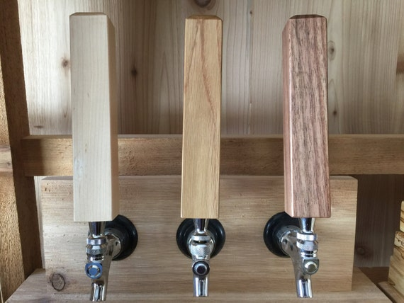 12 Hardwood Tap Handles. Custom Men's Gift for the Home Bar. Bar Decor for  Home Brew, Coffee Bar or Craft Beer. Bulk Tap Handle.