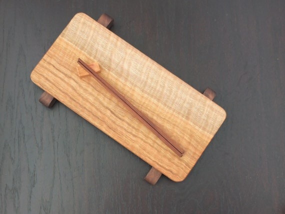 Unique Curly Oak sushi board, cheese board or charcuterie board. Beautiful hostess, anniversary, wedding  or housewarming gift!