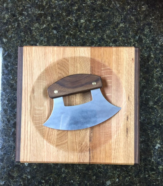 Wooden Cutting Board and Knife. Chopping Board with Personalized Knife, Gift for Her or Gift for Chef. Wedding Gift or Mother's Day Gift