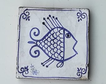 Ceramic Fish tile * Tile with fish