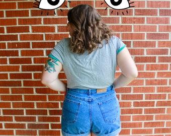 Vintage LEE Denim Riders Highwaisted Denim Shorts