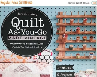 On Sale Quilt As You Go Made Vintage by Jera Brandvig