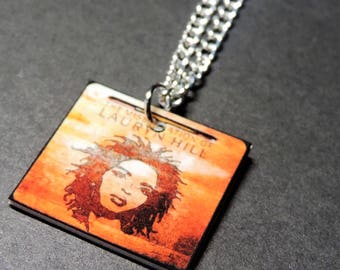 Lauryn Hill Necklace. Album Necklace. Miseducation of Lauryn Hill. Fugees. Ex Factor. Black Girl Magic. For the Culture. Melanin. Music.