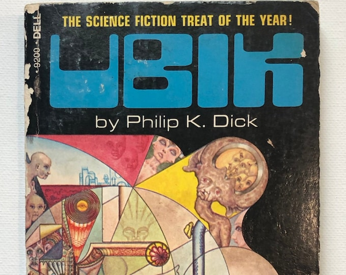 First Printing Softcover UBIK by Philip K Dick