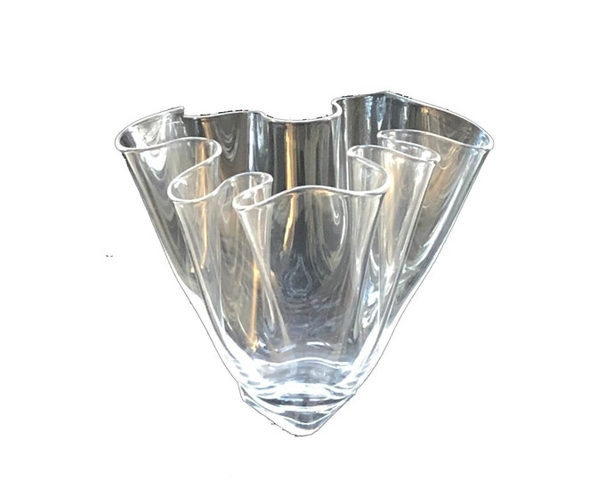 Vintage Steuben Handkerchief Vase