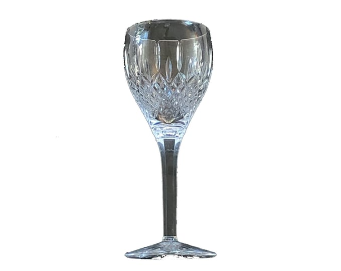 Rare Crystal Port Wine Glass in Shaftesbury by Stuart