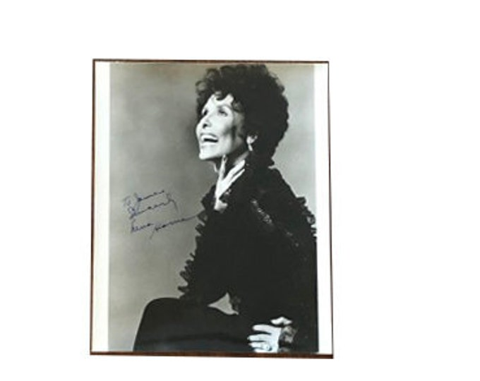 Lena Horn Inscribed Photograph