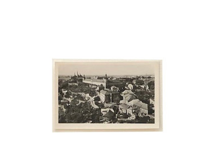 Vintage Kutna Hora Czech Republic Photo Postcard