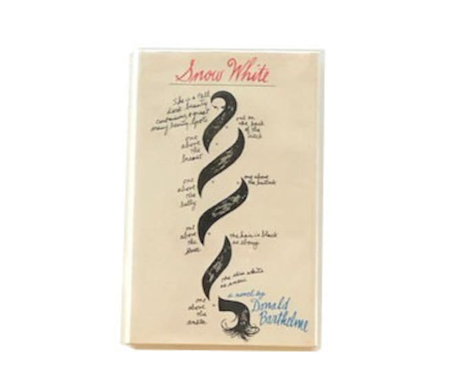 First Edition Snow White by Donald Barthelme
