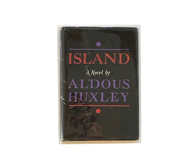 First Edition Island by Aldous Huxley