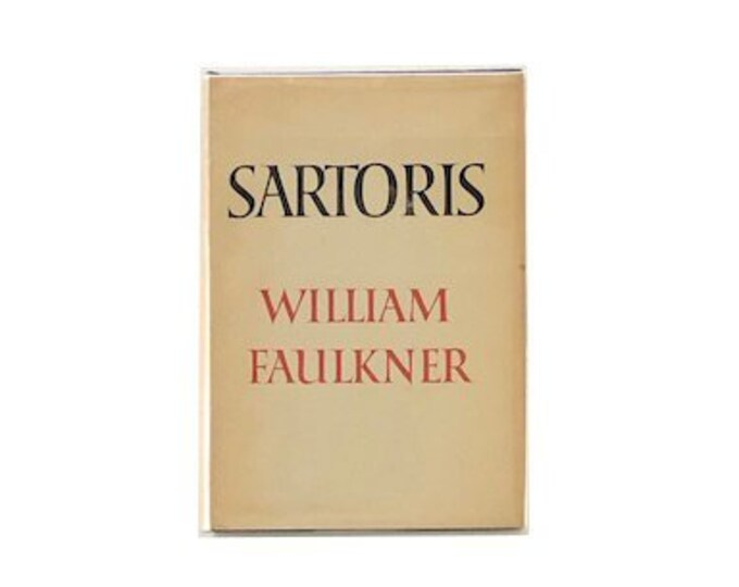 Sartoris by William Faulkner