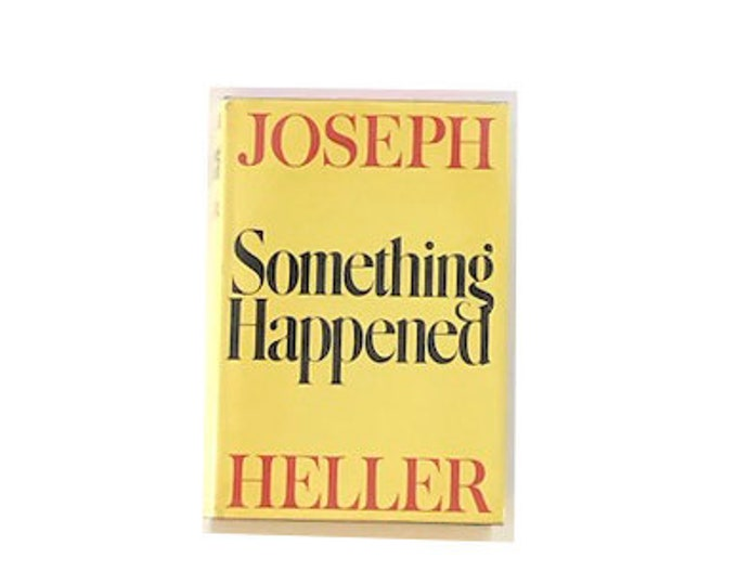 Signed First Edition Something Happened by Joseph Heller