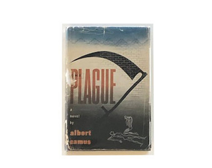 First American Edition The Plague by Albert Camus