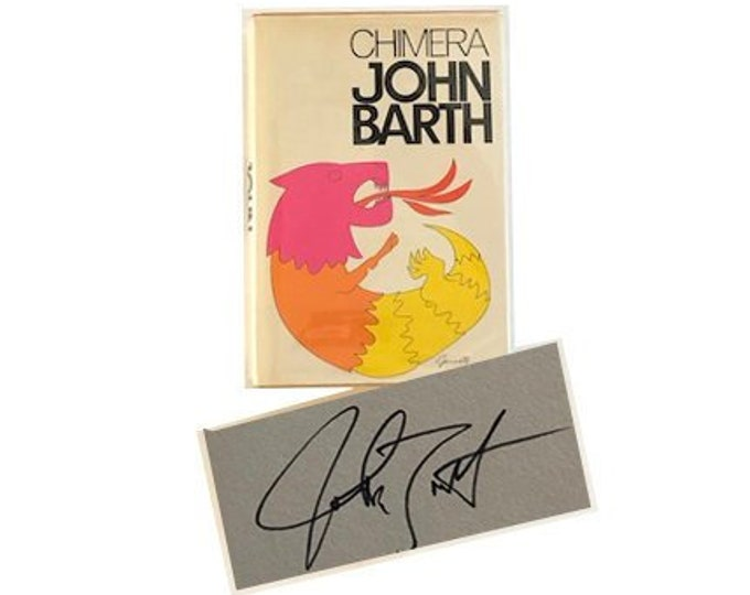Signed First Edition Chimera by John Barth