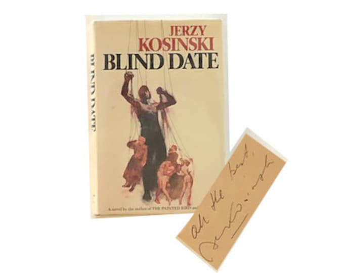 Signed Blind Date by Jerzy Kosinski