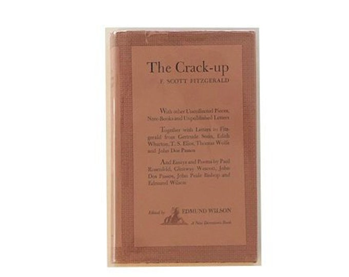 The Crack Up by F Scott Fitzgerald