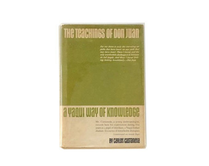 First Edition The Teachings Of Don Juan by Carlos Castaneda