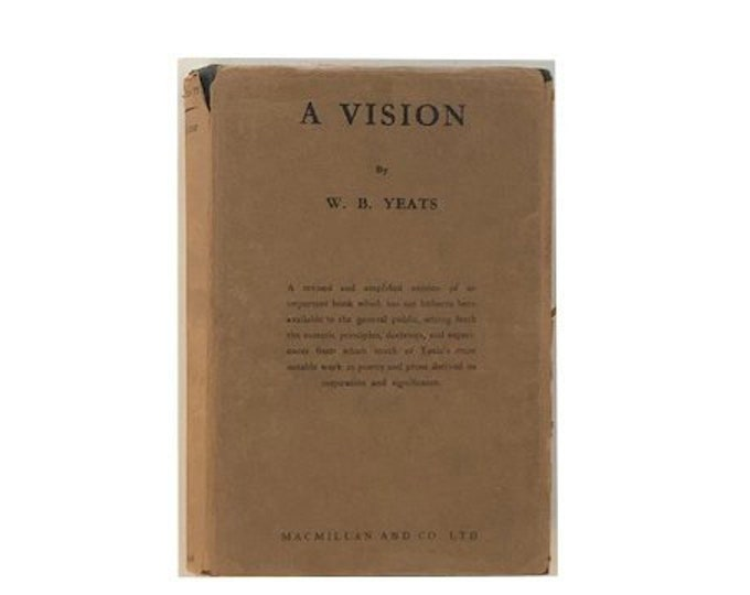 A Vision by W B Yeats