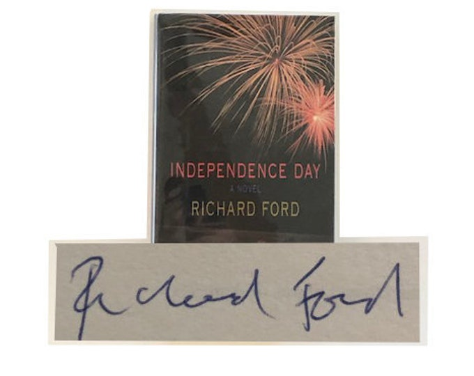Signed First Canadian Edition Independence Day by Richard Ford