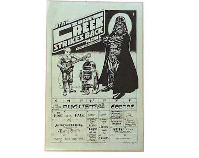 Star Wars Soap Creek Saloon Kerry Awn Poster