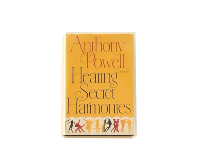 First American Edition Hearing Secret Harmonies by Anthony Powell