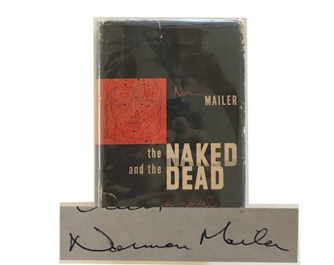 Signed The Naked And The Dead by Norman Mailer