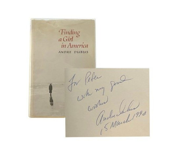 Signed Finding A Girl In America by Andre Dubus