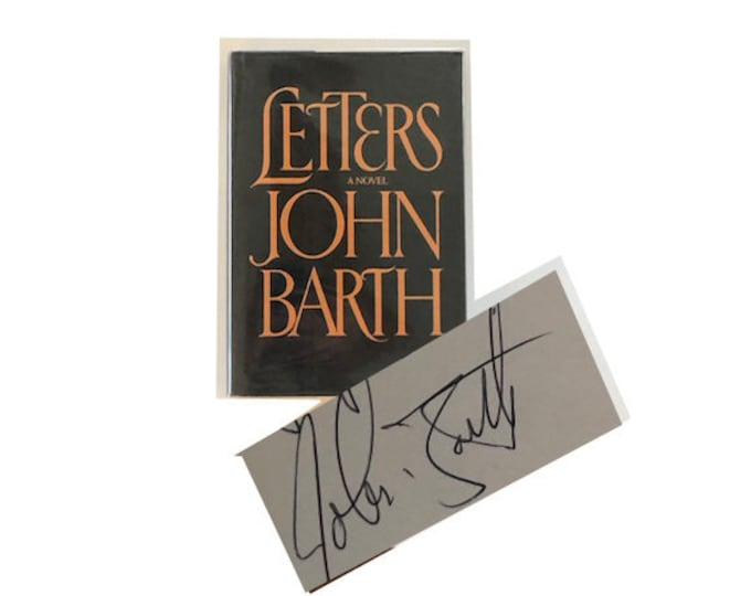 Signed Letters by John Barth