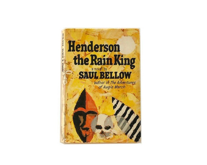 First Edition Henderson The Rain King by Saul Bellow