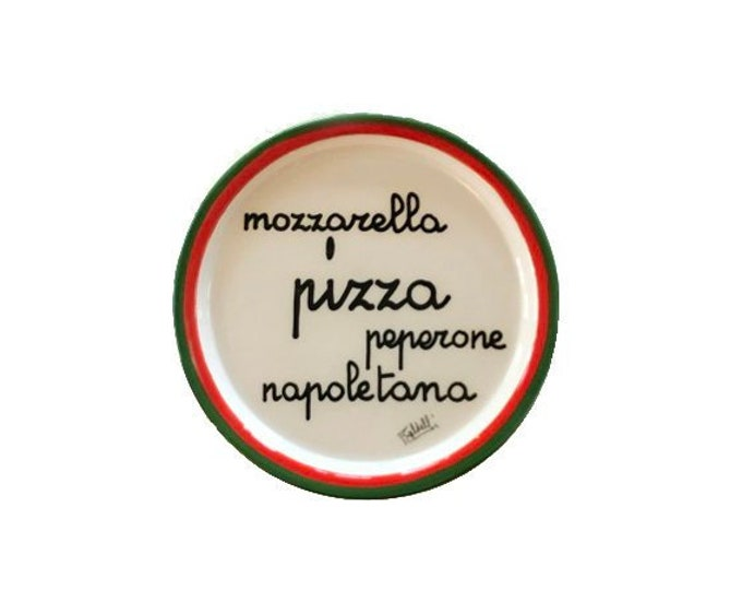 """Vintage Baldelli 13"""" Round Serving Platter"""